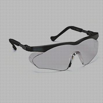 SAFEYEAR Luz LED Gafas Protectoras Hombres Antiniebla Gafas de Seguridad con Lentes Antiara/ñazos SG003GN-L Color Negro y Verde