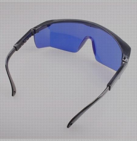 Marco negro y lente verde Gafas de seguridad l/áser para violeta//azul 200-450//800-2000nm Gafas redondas de absorci/ón Gafas protectoras l/áser Gafas