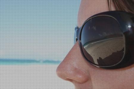2 gafas de bronceado de seguridad y duradero parche para los ojos con bolsas transparentes para tomar el sol en la playa