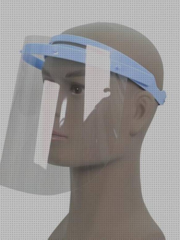 Aid Pantalla Facial Pantalla Facial Ajustable Antivaho con Protecci/ón contra Gotas Humo y Saliva 10 Unidades de Pantalla Facial Completa con Visera M/áscara de Pl/ástico Transparente con Visera