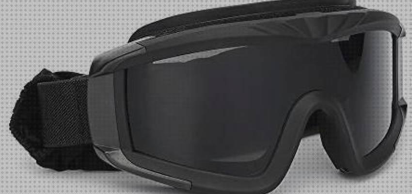 paintball DE snowboard esqu/í Gafas de protecci/ón con sistema de ventilaci/ón para pr/áctica deportiva ciclismo airsoft t/ácticas conducci/ón de color negro